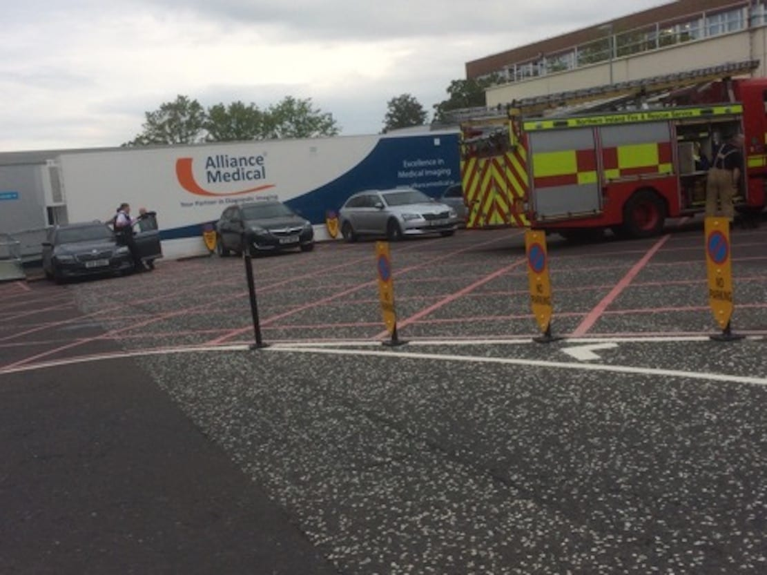 Craigavon Hospital fire