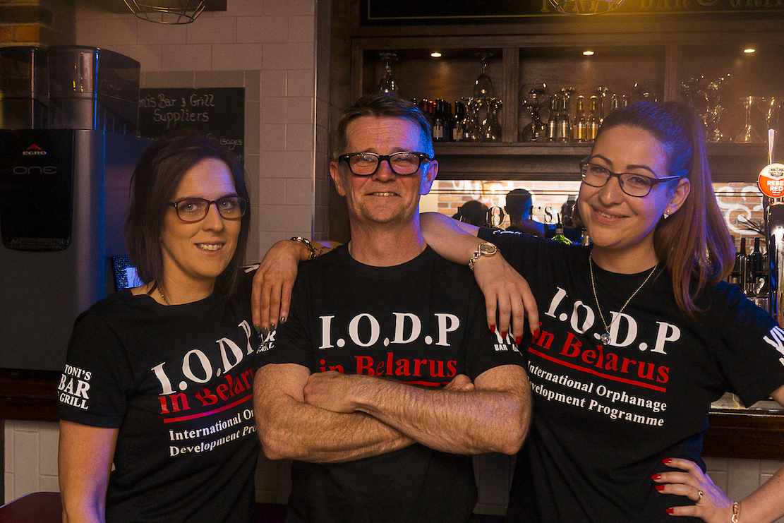 IODP launch night at Toni's Bar & Grill Armagh