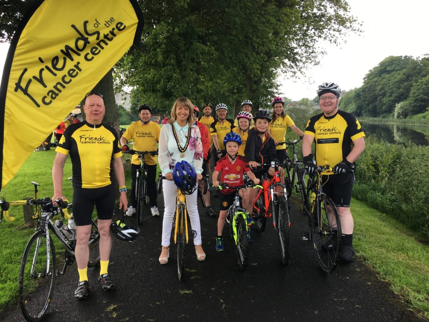 Margaret Tinsley Friends of Cancer cycle