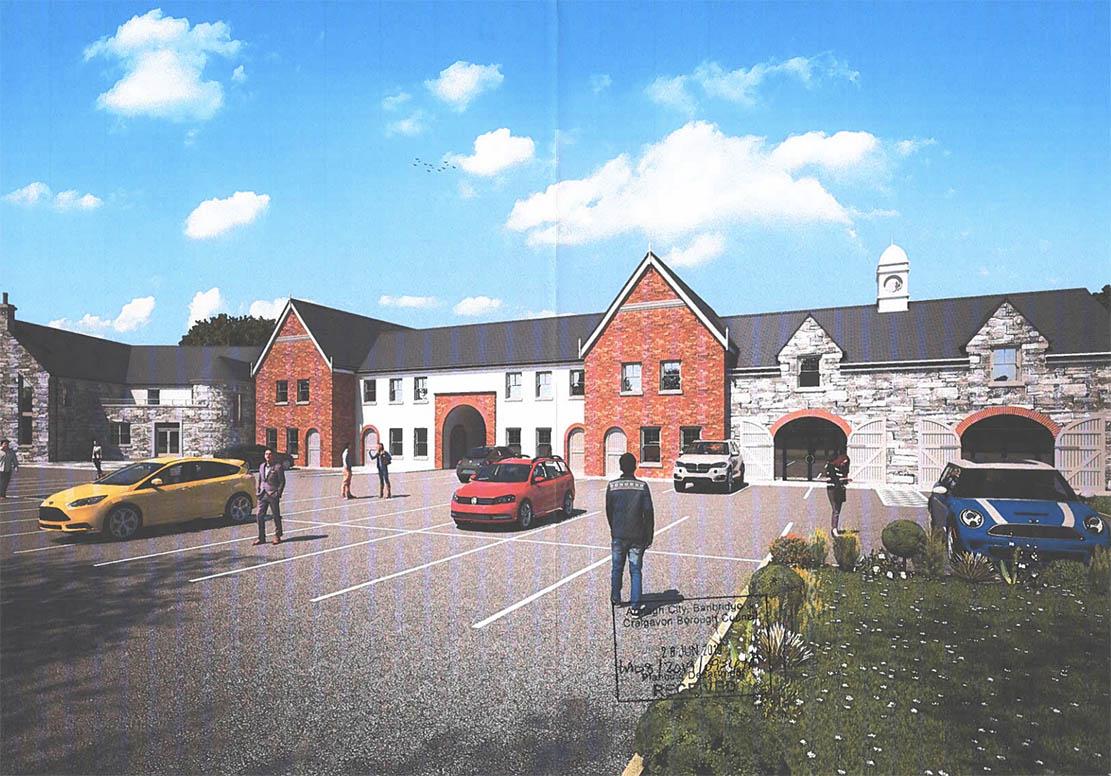 Orchard County Inn plans