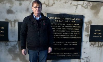 William Frazer campaigned for the victims of the Kingsmills' massacre