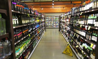 Alcohol aisle
