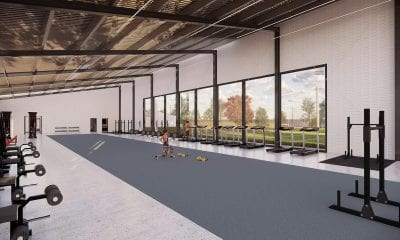 Plans for the new Armagh GAA training facility in Portadown