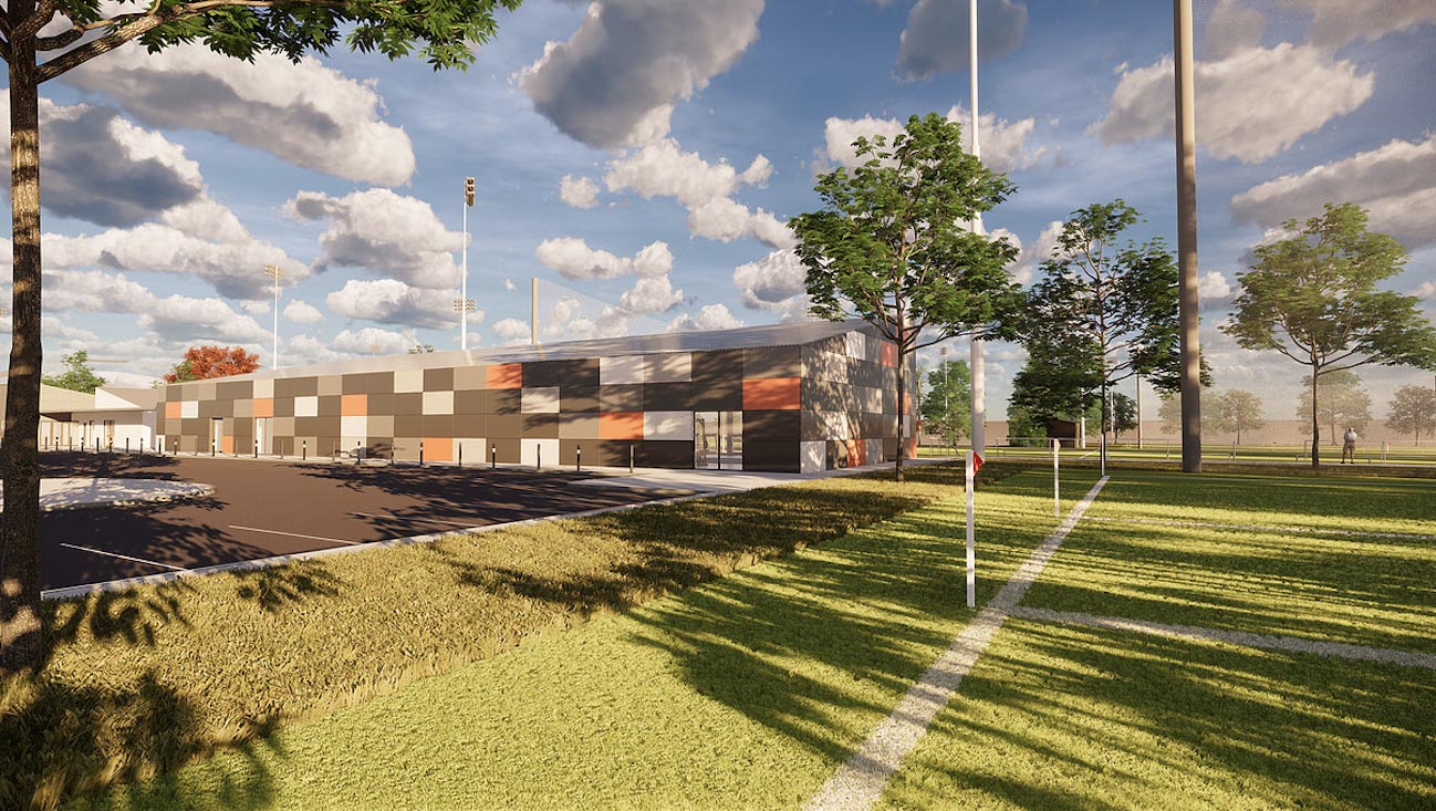 Armagh GAA training facility in Portadown