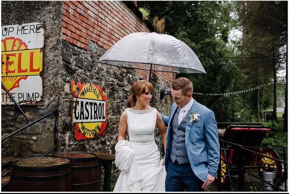 Basil Shiels Tassagh wedding