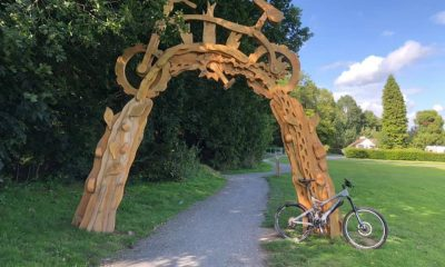 Gosford Forest Park bike trail