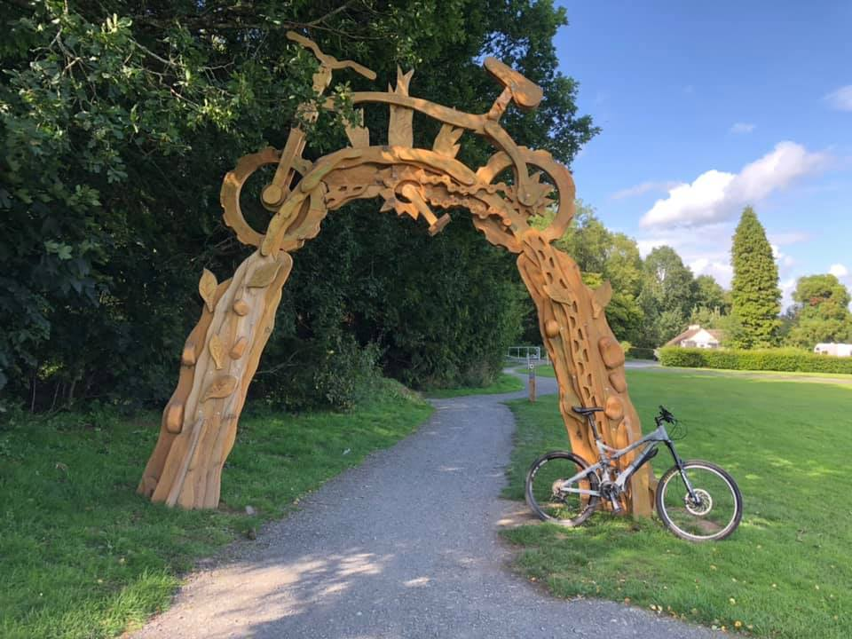 Gosford Forest Park bike trail