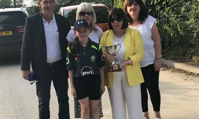 McGleenan Family with the Introduction of the John McGleenan Memorial Cup