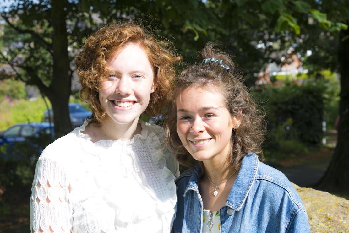 Aine Doyle (left) and Sophie Doran