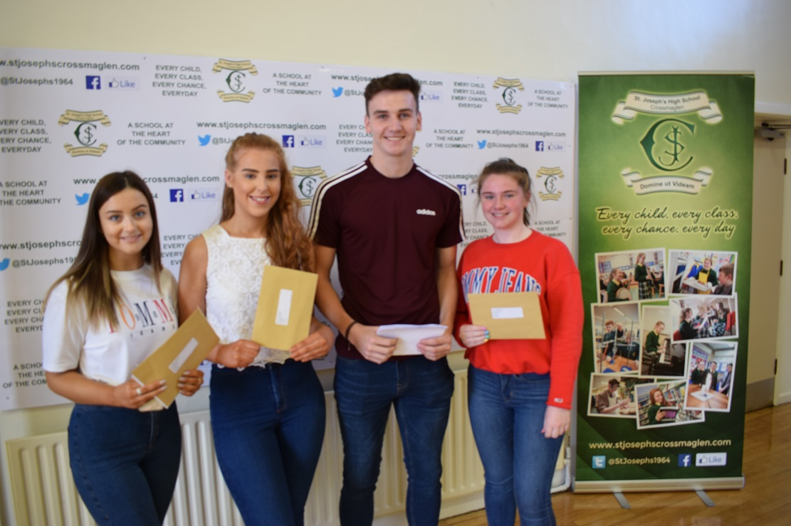 Erin McArdle, Sophie Greer, Eoghan McMahon and Erin Maguire
