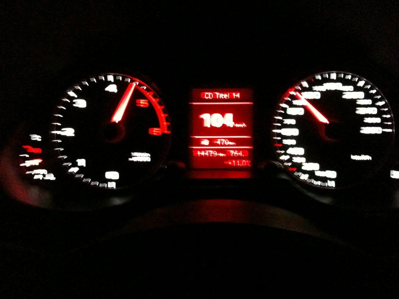 speeding driving
