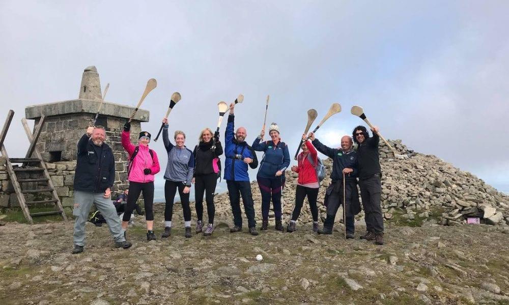 West Armagh Consortium Poc Fada on Slieve Gullion for charity