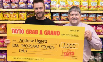 Andrew Liggett from Portadown who won £1,000