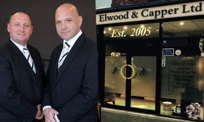 Brian Elwood (Partner) and David Capper (Partner) od Elwood and Capper Funeral Directors