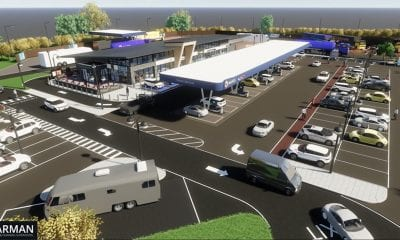 Maxol filling station Newry