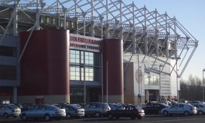 Riverside Stadium, Middlesborough