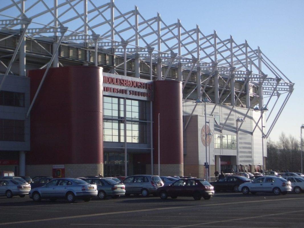 Riverside Stadium, Middlesborough