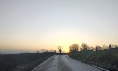 Frosty morning Clady Road
