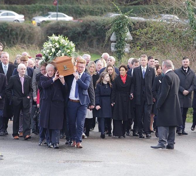 Seamus Mallon funeral
