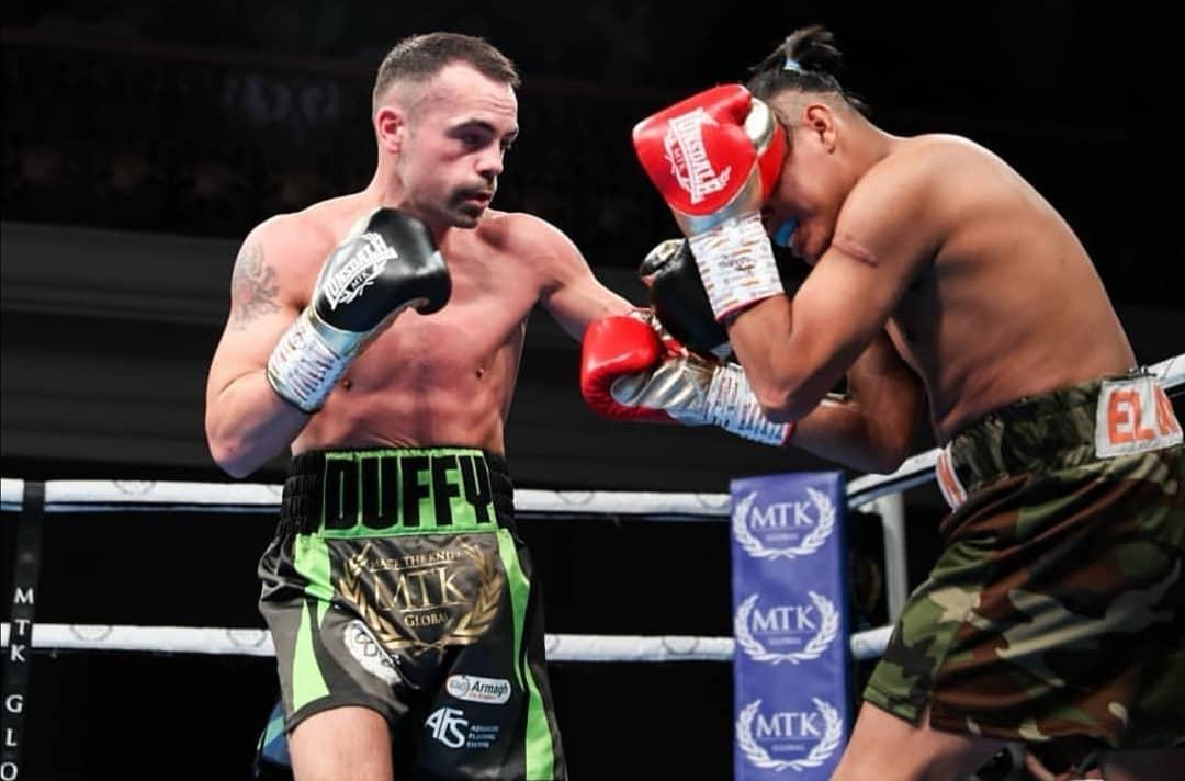 Armagh boxer Sean Duffy