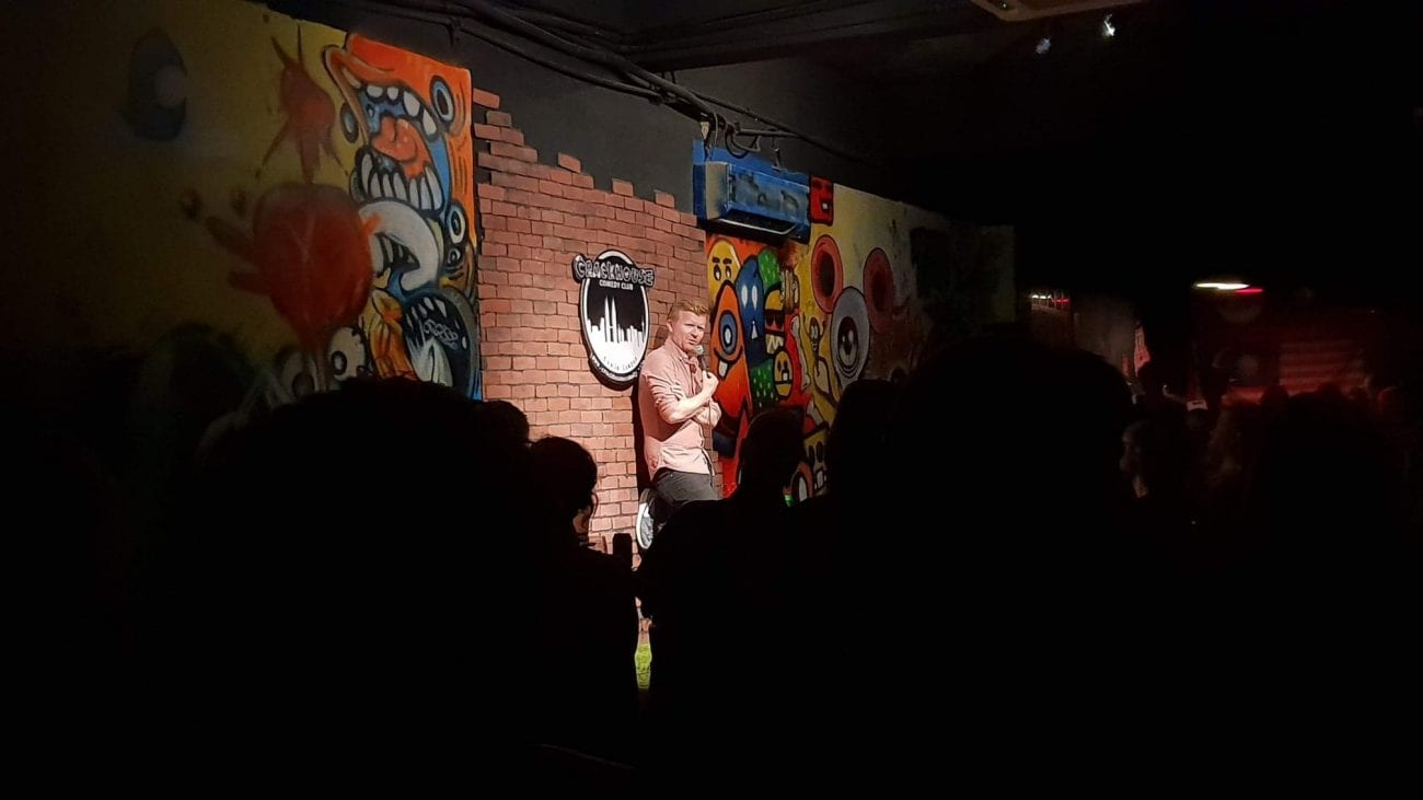 Darren Matthews comedian