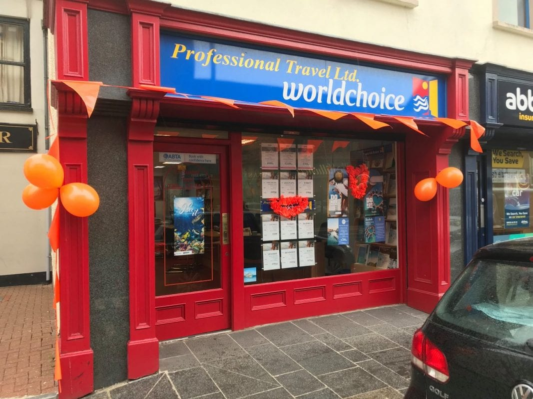 Professional Travel Dungannon store