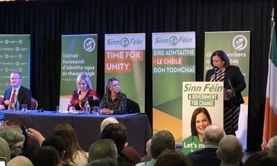 Mary Lou McDonald in Newry