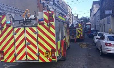 Fire Edward Street Newry