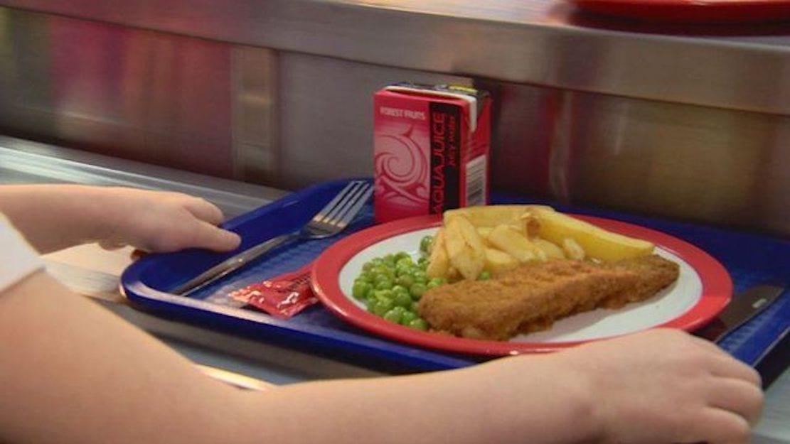 School dinner meals