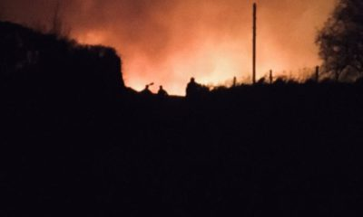 Gorse Fire Omagh