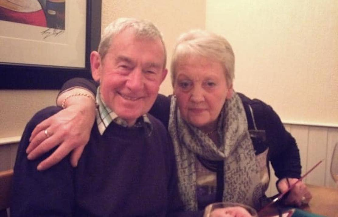 Jack McNally with wife Flo