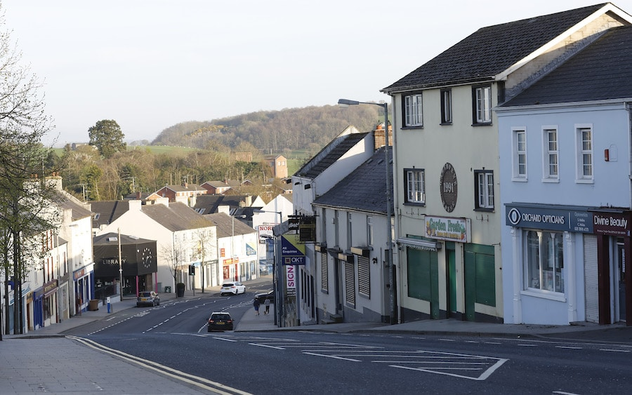 Tandragee town centre