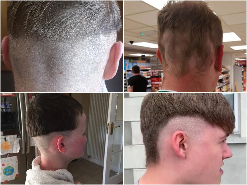 Lockdown haircuts
