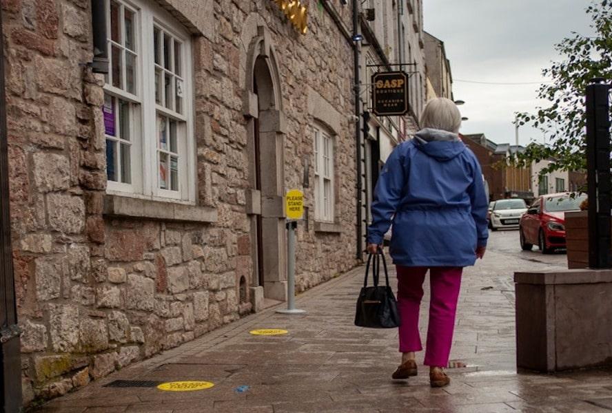Armagh corona covid social distancing