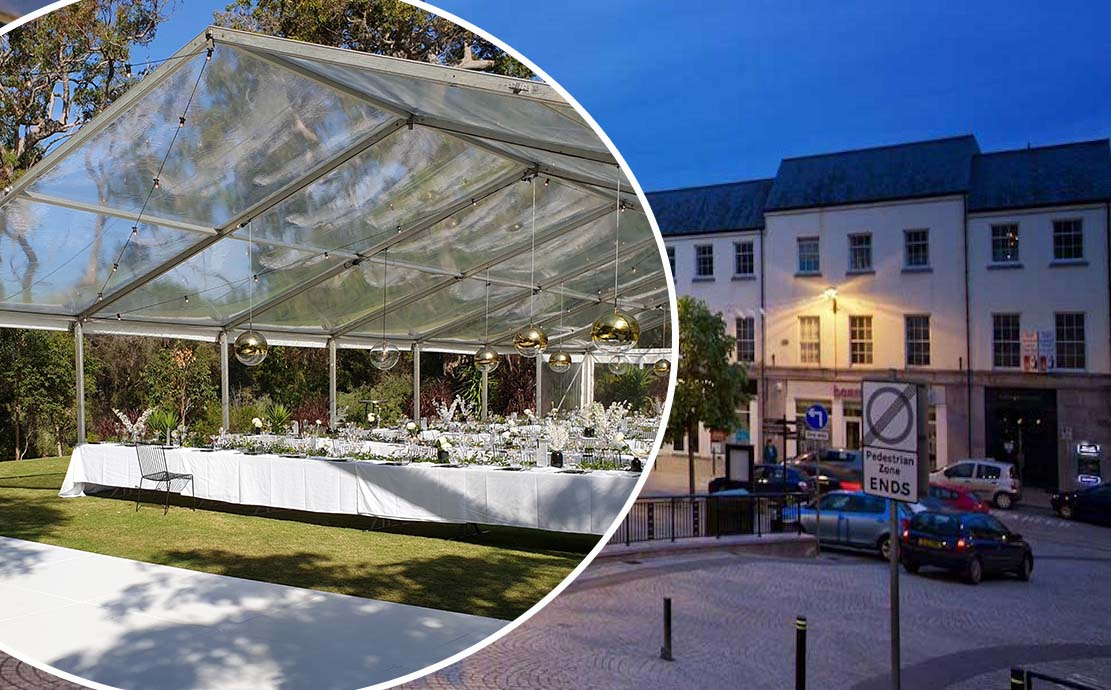 Armagh-Market-Street marquee