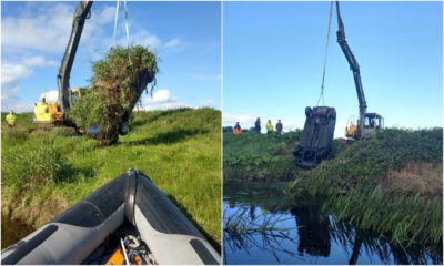 Cars removed from River Bann