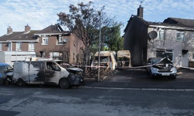 Ardmore fire Armagh aftermath