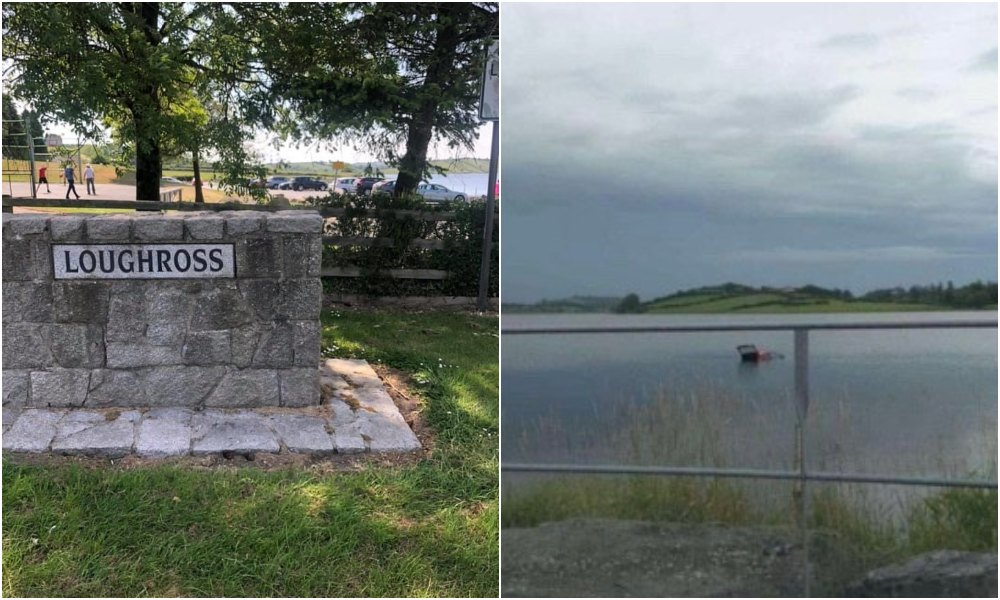 Lough Ross car submerged