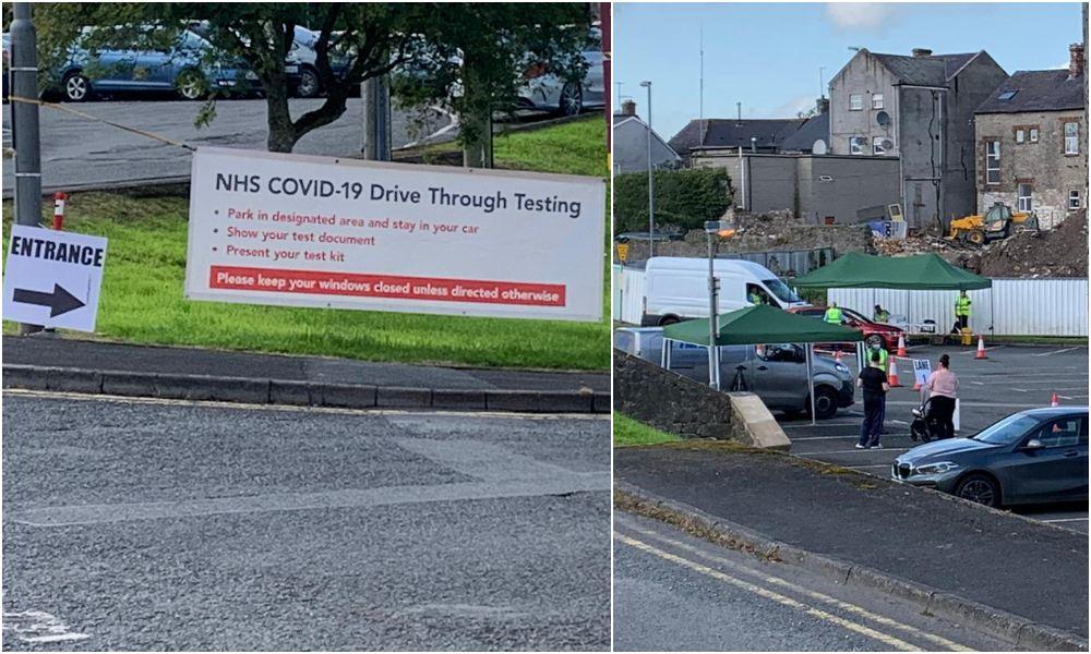 Armagh Covid test facility