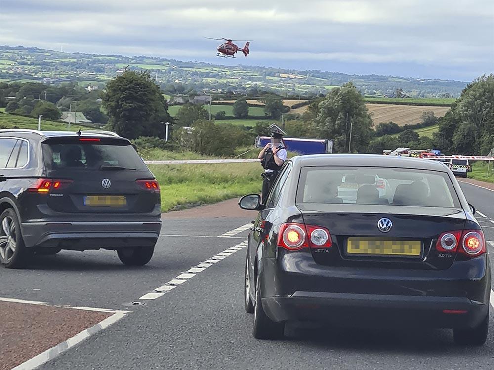 Gosford Road crash