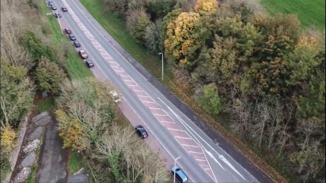 Gosford Parking Aerial