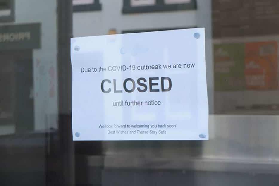 Shop closed