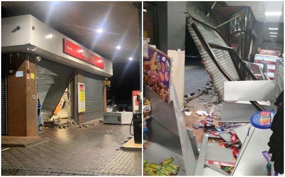 Shop ram raided Killeen south Armagh