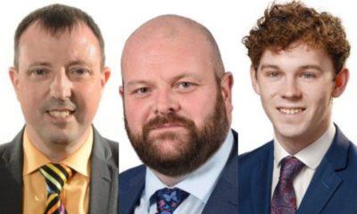Ian Burns, Mark Baxter, Eoin Tennyson