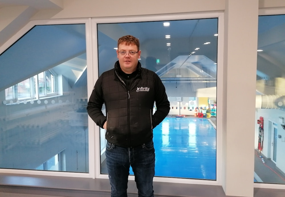 Padraig Mallon Bessbrook swimming