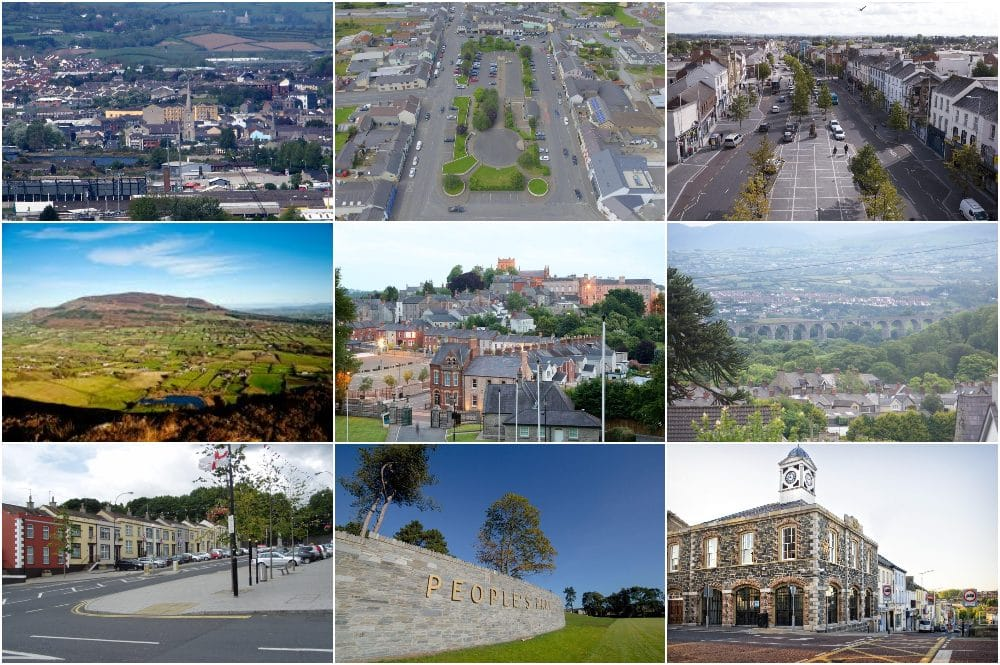 Co Armagh Newry Banbridge collage