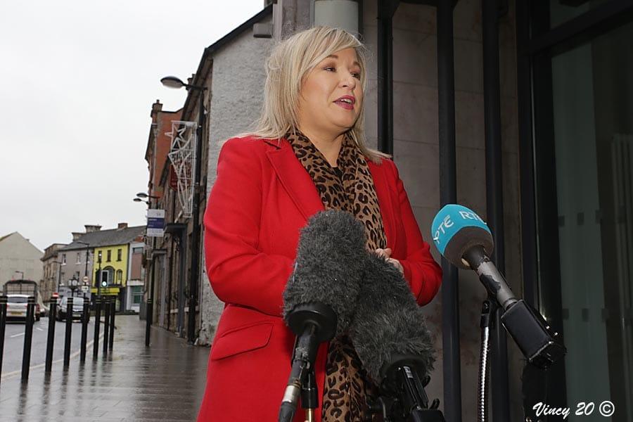 Deputy First Minister Michelle O'Neill
