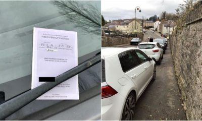 Fixed penalty parking Loughgall