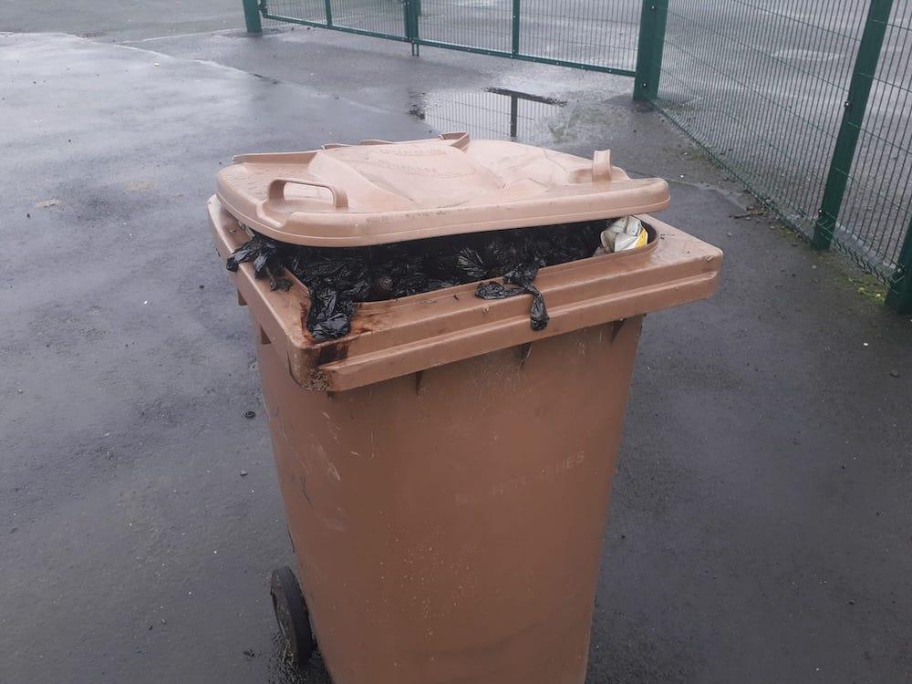Newry bin stench