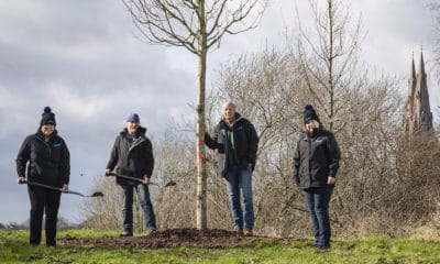 Armagh Observatory tree planting